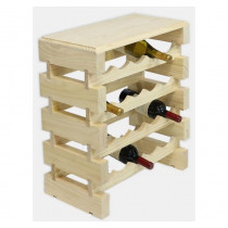 NATURAL CUSTOM 20 BOTTLE MODULARACK® WITH TABLE TOP 4H x 5W